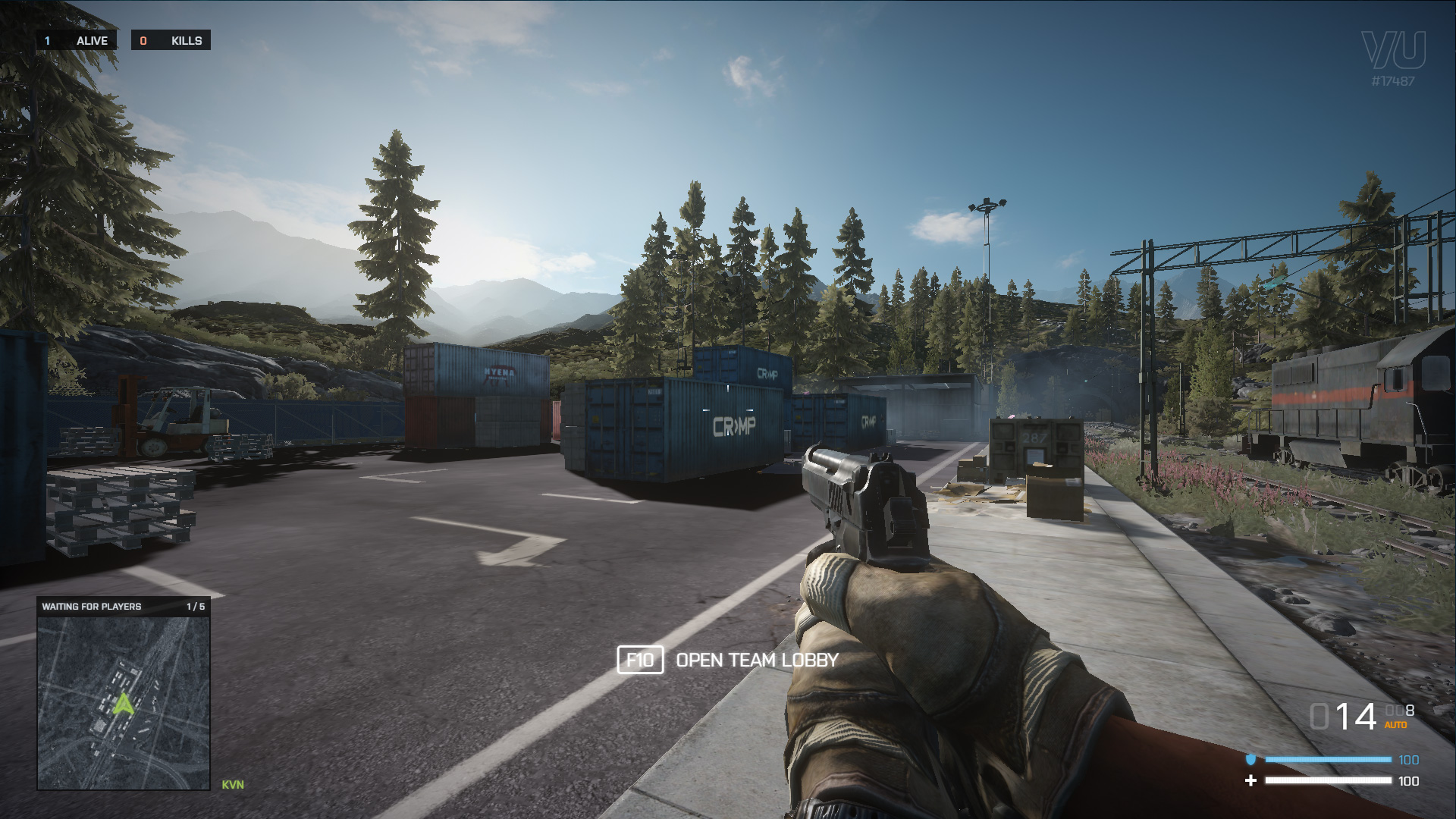 In-game HUD
